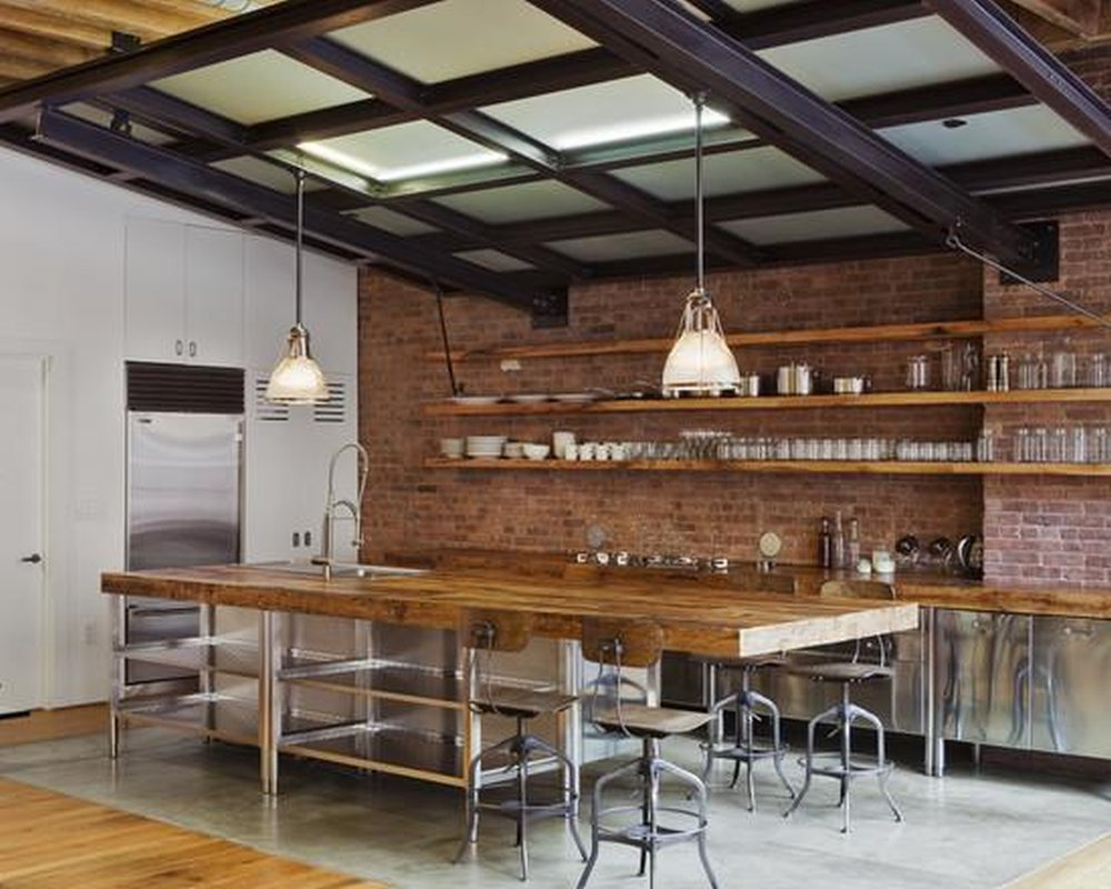 Кухня в стиле Лофт 3