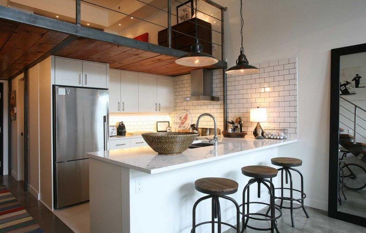 Кухня в стиле Лофт 12