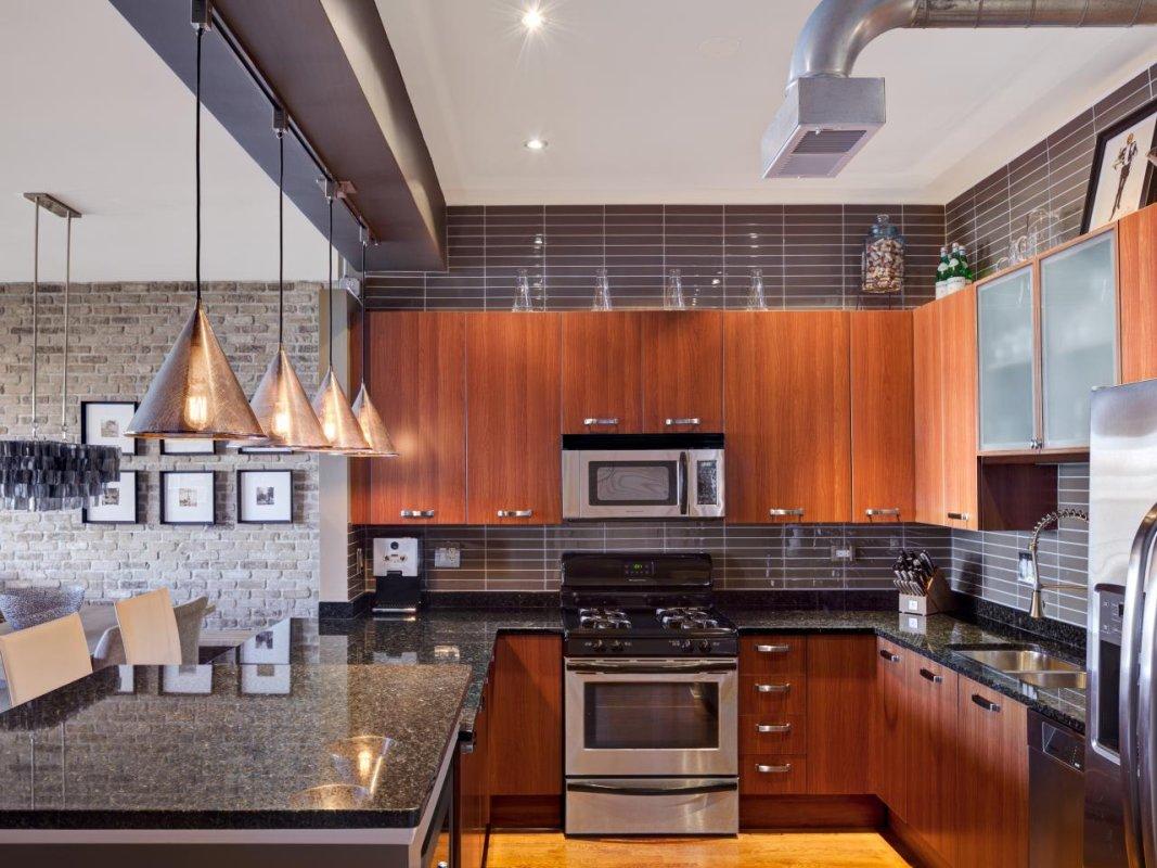 Кухня в стиле Лофт 17