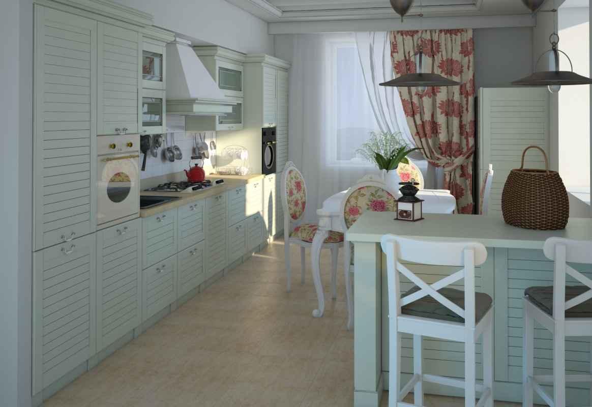 Кухня прованс 19