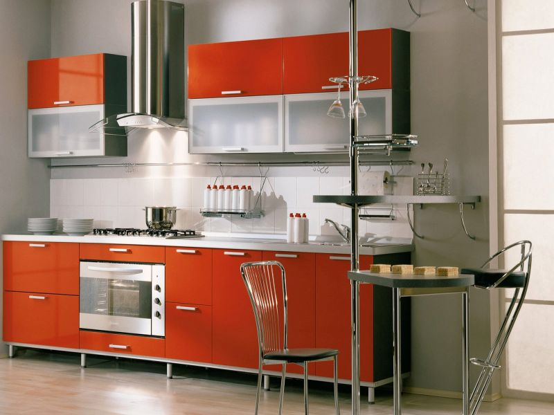 Кухня Hi Tech 3