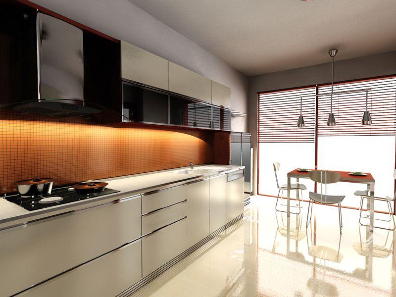 Кухня Hi Tech 16