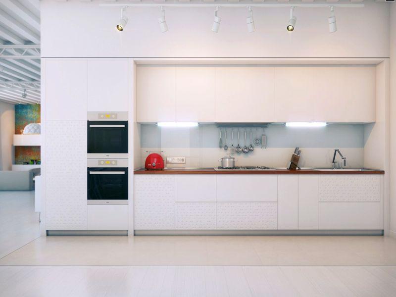 Кухня Hi Tech 18