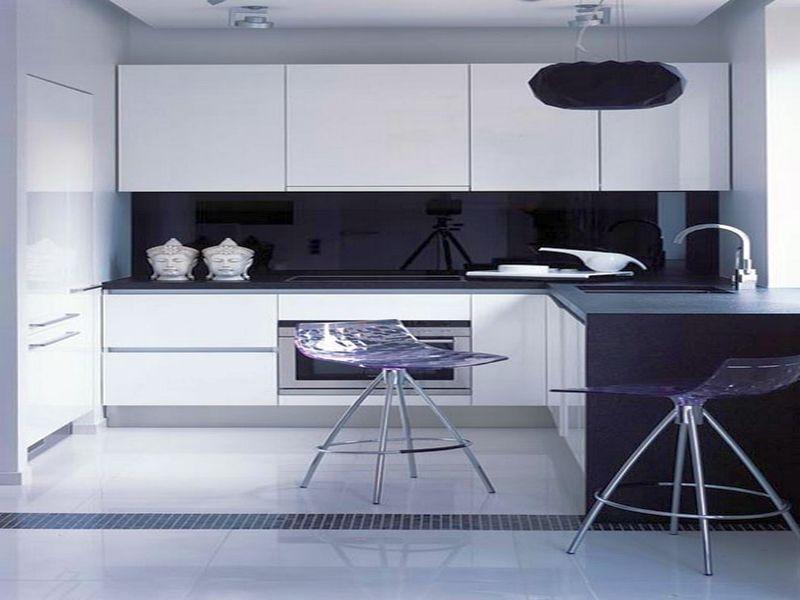 минималистическая кухня в светлых тонах