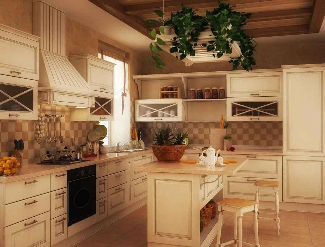 Кухня прованс 29