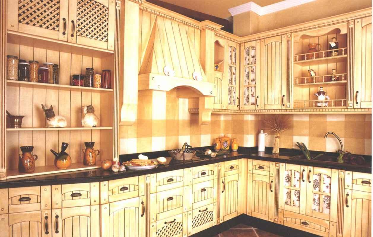 Кухня прованс 36
